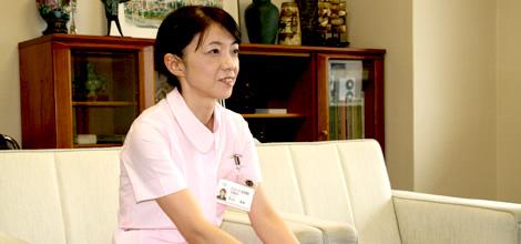 県立がんセンター新潟病院 丸山看護師長