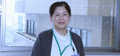 みどり病院 看護部長 泉田幸子さん