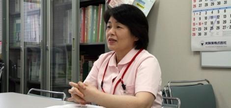 新潟県立新発田病院 看護部長 小野塚礼子様
