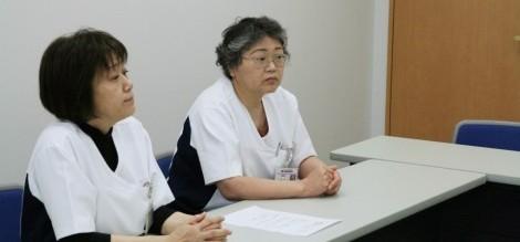 インタビューVol.11-1 臨港病院インタビュー 田中里子看護部長 桑原師長