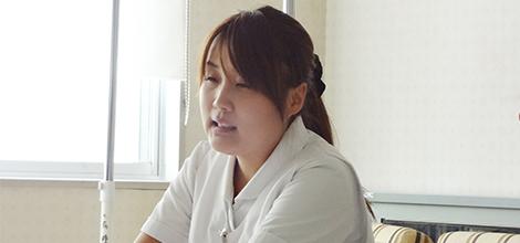 水原郷病院 眞野 百合奈さん 片原 奈々さん